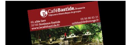 Restaurant terrasse Bordeaux, Vente à emporter Bordeaux